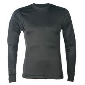 100% Silk Mens Thermal Long Sleeve Vest