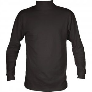 Mens Cotton Roll Neck Polo Neck Top
